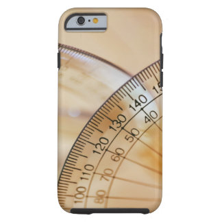 Close-up of a protractor tough iPhone 6 case