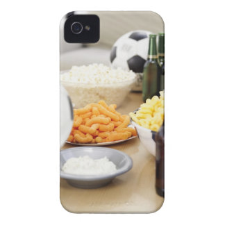 close-up of a remote control with beer bottles iPhone 4 Case-Mate case