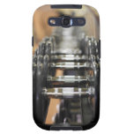 Close-up of a row of dumbbells galaxy s3 case