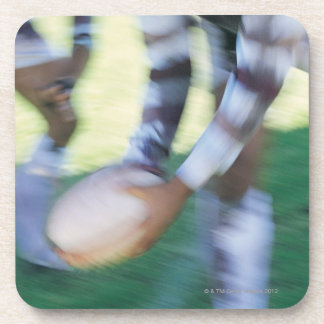 Close up of a Rugby Union Player Passing The Beverage Coaster
