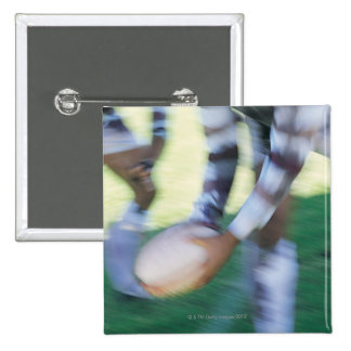 Close up of a Rugby Union Player Passing The Pinback Button