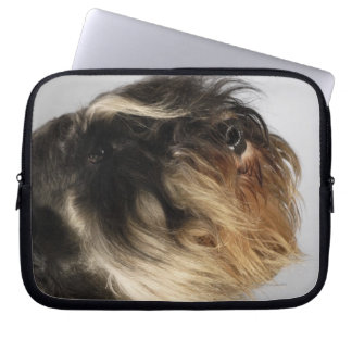 Close-up of a Schnauzer Laptop Computer Sleeves