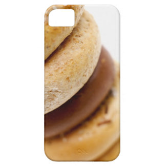 Close-up of a stack of assorted bagels iPhone SE/5/5s case