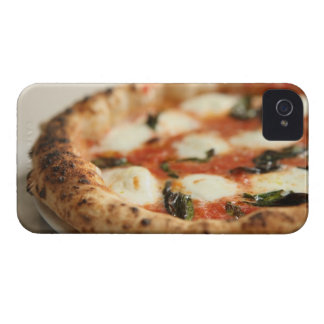 Close-up of a whole pizza pie iPhone 4 cover