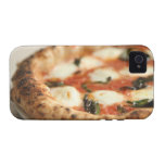 Close-up of a whole pizza pie vibe iPhone 4 cover