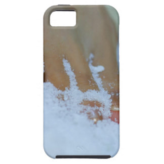 Close-up of a woman's foot in salt iPhone SE/5/5s case