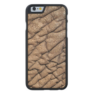 Close-Up Of African Elephant's Hide Carved Maple iPhone 6 Slim Case