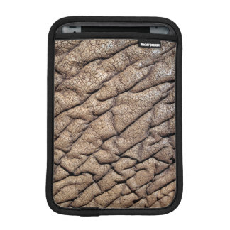 Close-Up Of African Elephant's Hide iPad Mini Sleeves