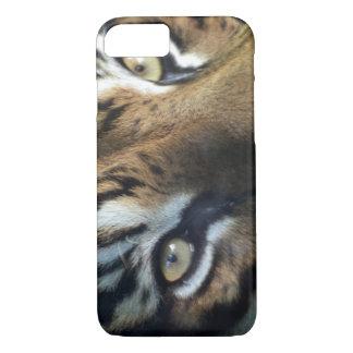 Close up of an adult male Sumatran Tiger iPhone 8/7 Case