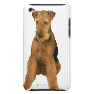 Close up of an airedale terrier barely there iPod cases