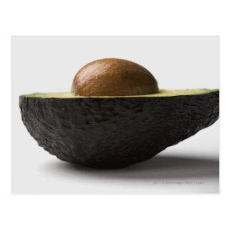 Close-up of an avocado postcard