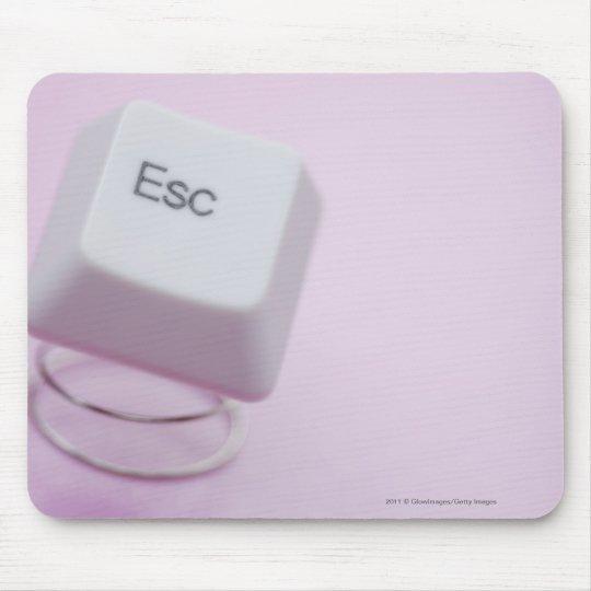 Close-up of an escape key mouse pad