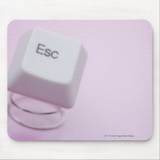 Close-up of an escape key mouse pad
