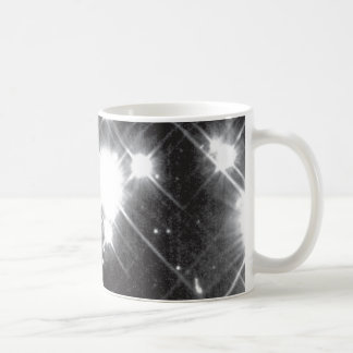 Close Up of Ancient, White Dwarf Stars in the Milk Coffee Mug