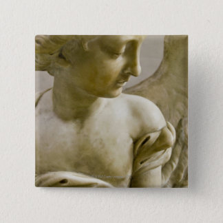 close-up of angel in Santa Maria degli Angeli Pinback Button