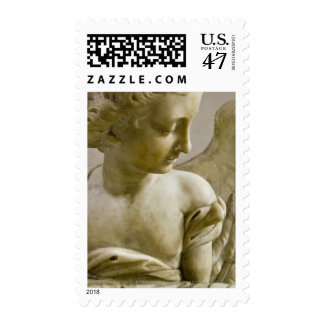 close-up of angel in Santa Maria degli Angeli Postage