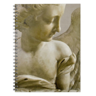 close-up of angel in Santa Maria degli Angeli Spiral Notebook