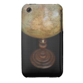 Close-up of antique globe 2 Case-Mate iPhone 3 case