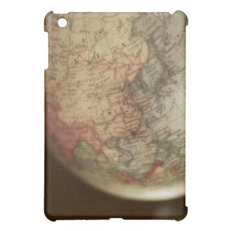 Close-up of antique globe 2 iPad mini cases
