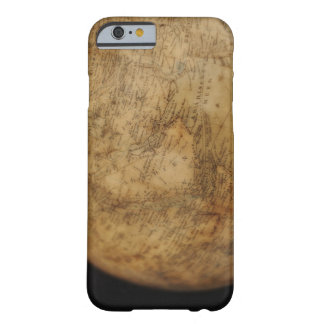 Close up of antique globe 3 barely there iPhone 6 case