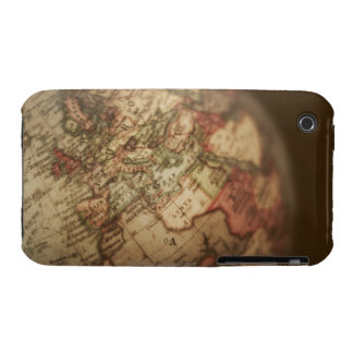 Close-up of antique globe 3 iPhone 3 Case-Mate cases