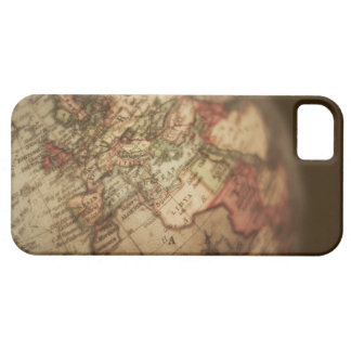 Close-up of antique globe 3 iPhone SE/5/5s case
