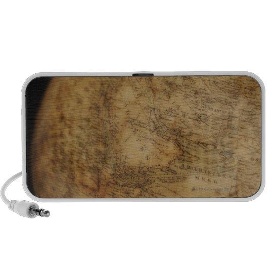 Close up of antique globe 3 portable speaker