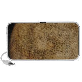 Close up of antique globe 3 iPhone speaker