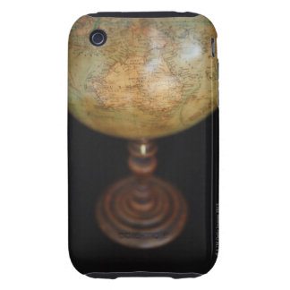 Close-up of antique globe iPhone 3 tough case