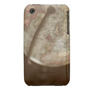 Close up of antique globe Case-Mate iPhone 3 cases