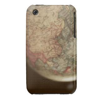 Close-up of antique globe Case-Mate iPhone 3 case