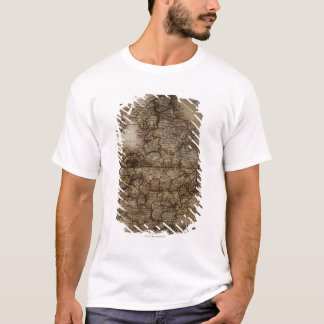 Close up of antique map of England T-Shirt