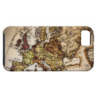Close up of antique world map 2 iPhone SE/5/5s case