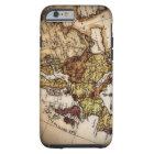 Close up of antique world map 2 tough iPhone 6 case