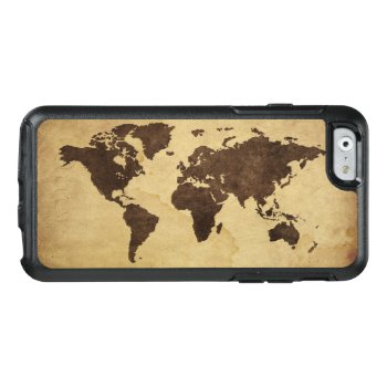 Close Up Of Antique World Map 3 Otterbox Iphone 6/6s Case by prophoto at Zazzle