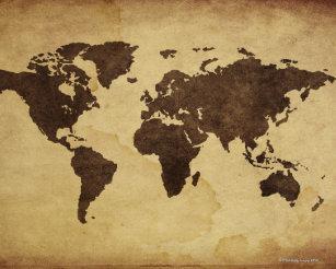 World Map Posters & Photo Prints | Zazzle