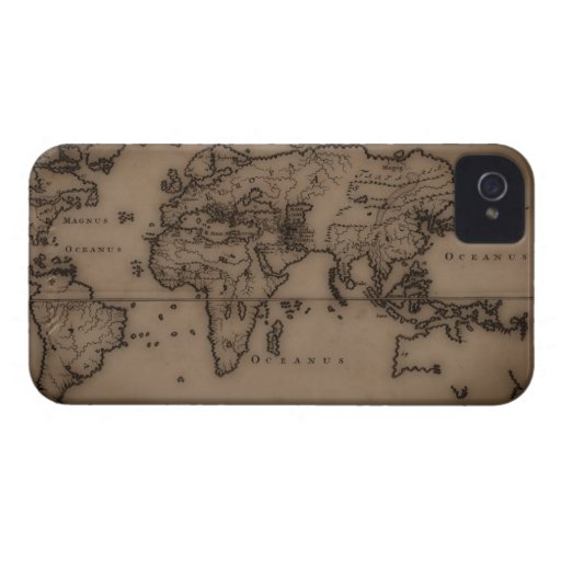 Close up of antique world map 7 Case-Mate iPhone 4 case