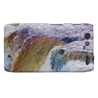 Close Up of Aysgarth Falls in Yorkshire Droid RAZR Cover
