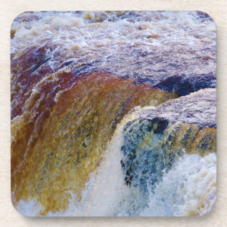 Close Up of Aysgarth Falls in Yorkshire Drink Coaster
