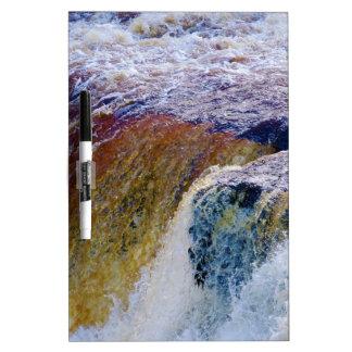 Close Up of Aysgarth Falls in Yorkshire Dry-Erase Board
