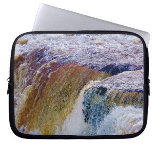Close Up of Aysgarth Falls in Yorkshire Computer Sleeves