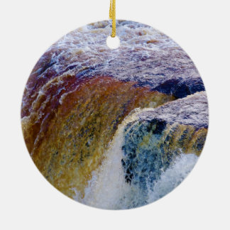 Close Up of Aysgarth Falls in Yorkshire Ornament