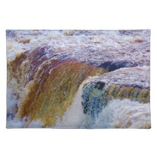 Close Up of Aysgarth Falls in Yorkshire Placemat