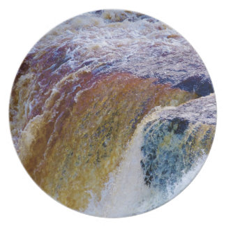 Close Up of Aysgarth Falls in Yorkshire Plates