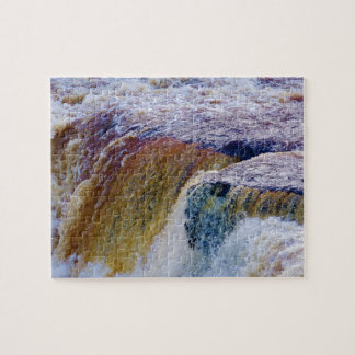 Close Up of Aysgarth Falls in Yorkshire Puzzles