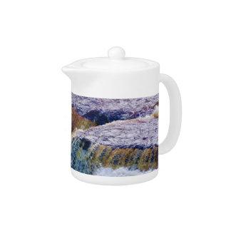 Close Up of Aysgarth Falls in Yorkshire