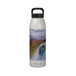Close Up of Aysgarth Falls in Yorkshire Reusable Water Bottles