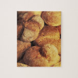 close-up of baked bread jigsaw puzzles