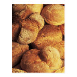 close-up of baked bread postcard