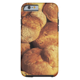 close-up of baked bread tough iPhone 6 case